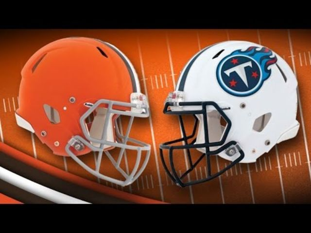 Cleveland Browns vs Tennessee Titans live stream