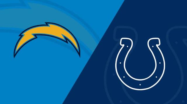 Los Angeles Chargers vs Indianapolis Colts live stream