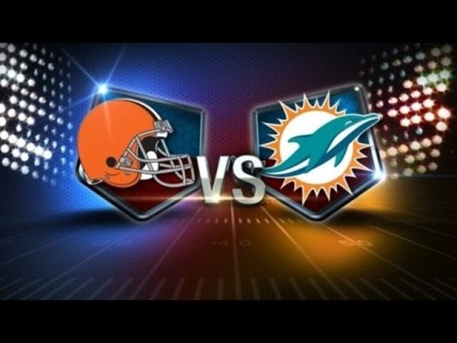 Cleveland Browns vs Miami Dolphins live stream