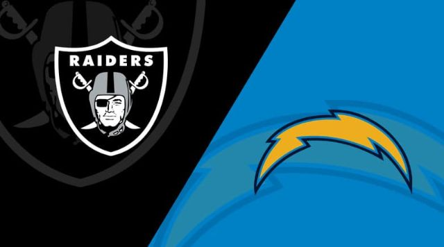 Oakland Raiders vs Los Angeles Chargers live stream