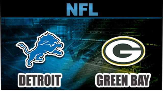 Detroit Lions vs Green Bay Packers live stream