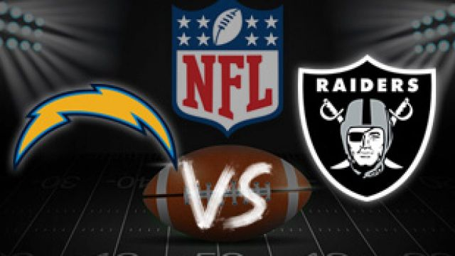 Los Angeles Chargers vs Oakland Raiders live stream